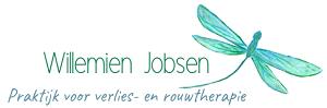 Logo Willemien Jobsen website rouwverwerking rouw therapie