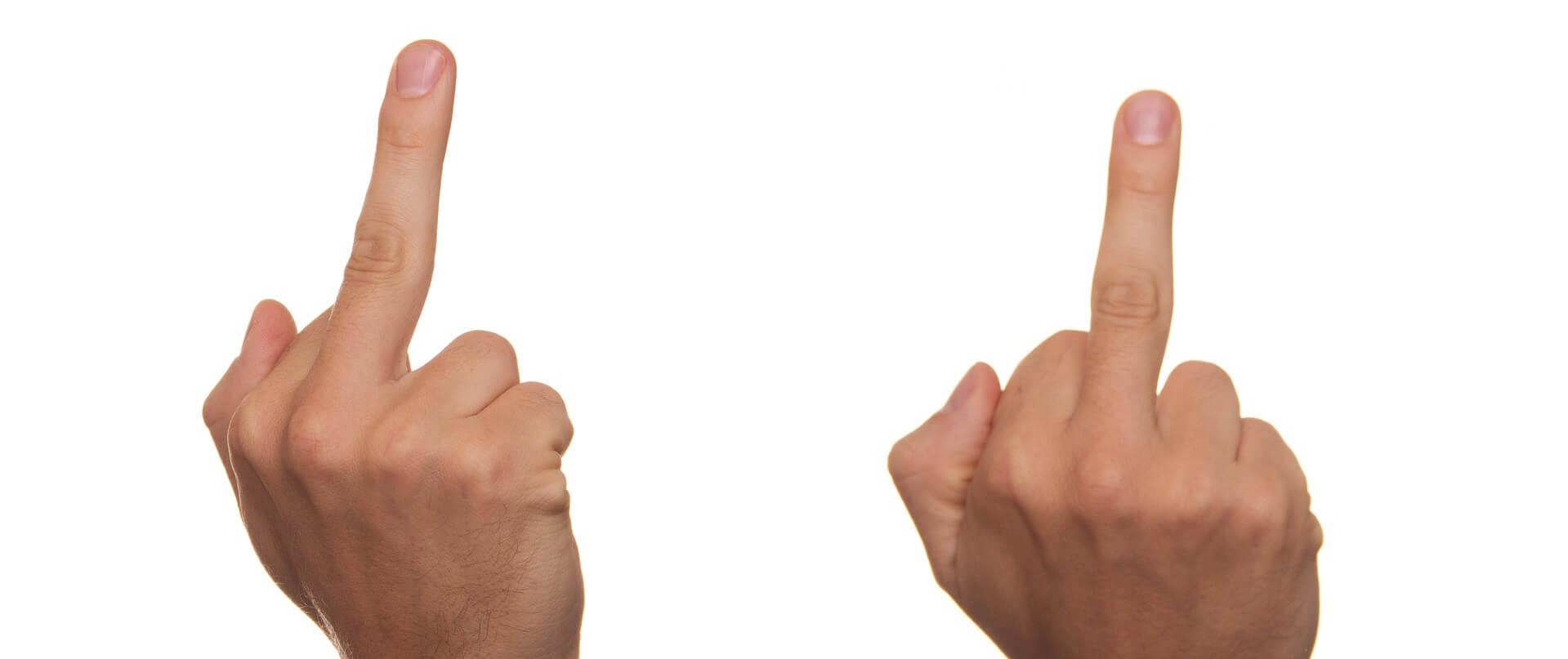 irritaties van websitebezoekers waardoor ze afhaken
